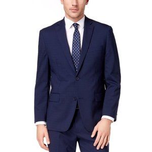 Michael Kors Classic Check 2 Button Suit Jacket